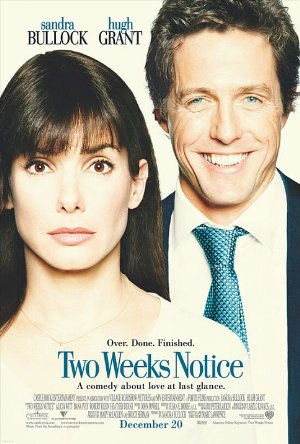 Two Weeks Notice poster