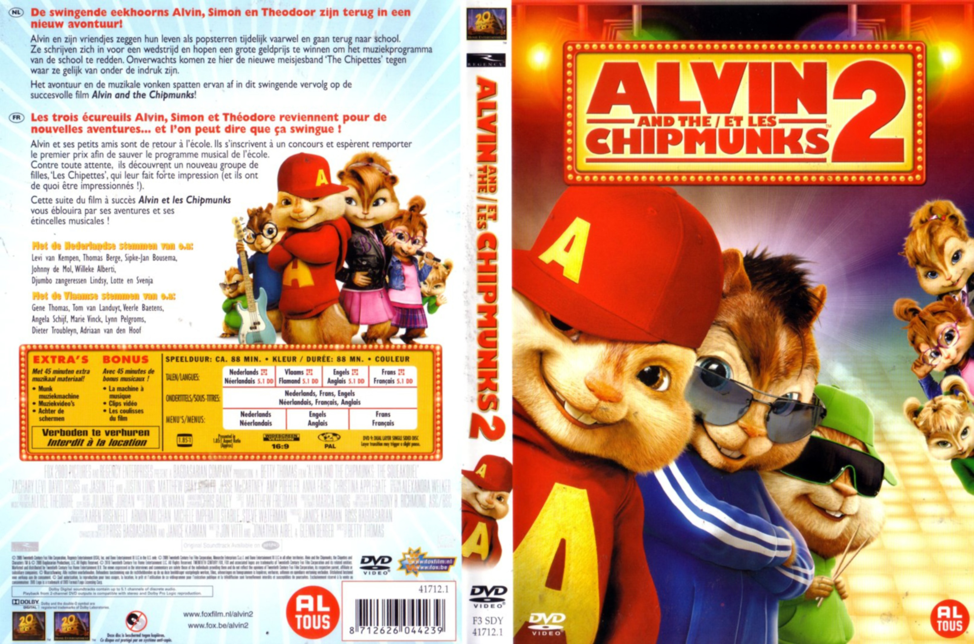 Simon Chipmunk Dvds