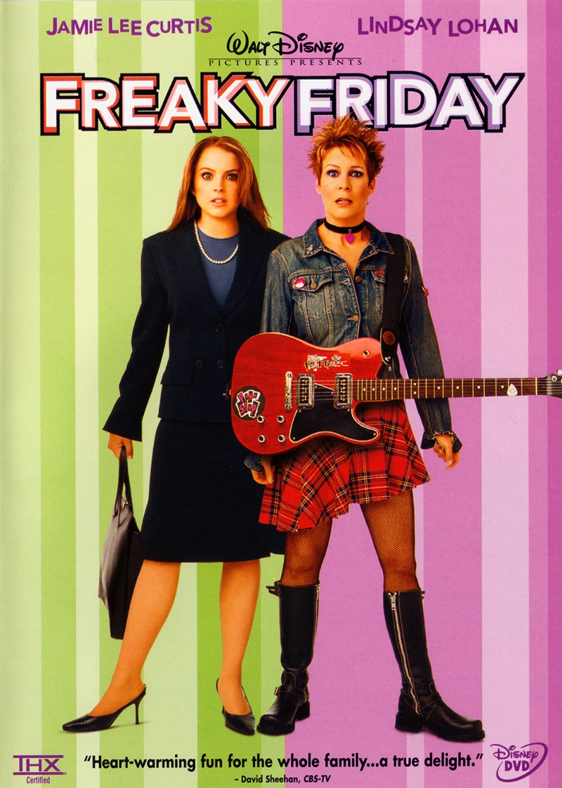 freaky friday dvd planet store