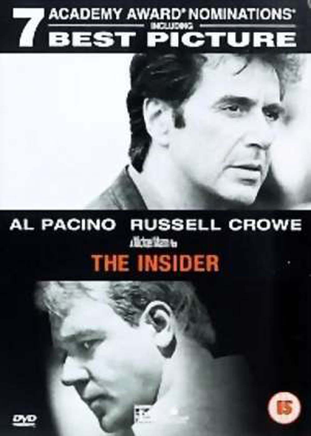 The insider 1999 dvd planet store for Inside movie