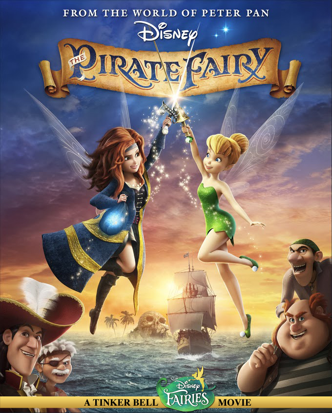 Tinker Bell and the Pirate Fairy (2014) - DVD PLANET STORE