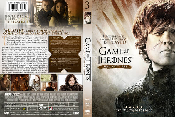 Game Of Trone Season 1 Dvd Cover: DVD PLANET STORE