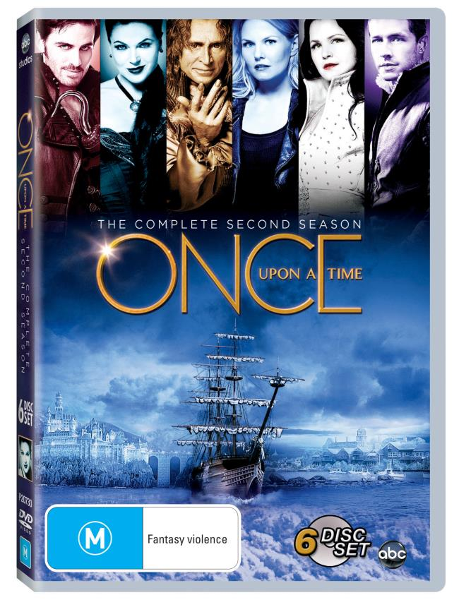 Once Upon A Time DVD Season 2