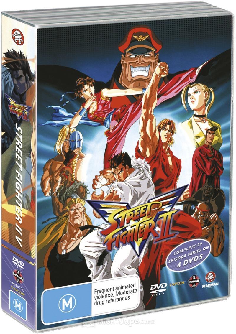 Street Fighter II: V (Complete Series 4-Disc-Box-Set)