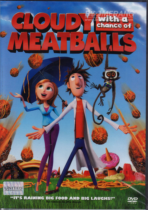 Cloudy With A Chance Of Meatballs 2009 Dvd Planet Store