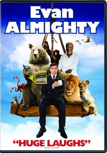 Evan Almighty 2007 Dvd Planet Store