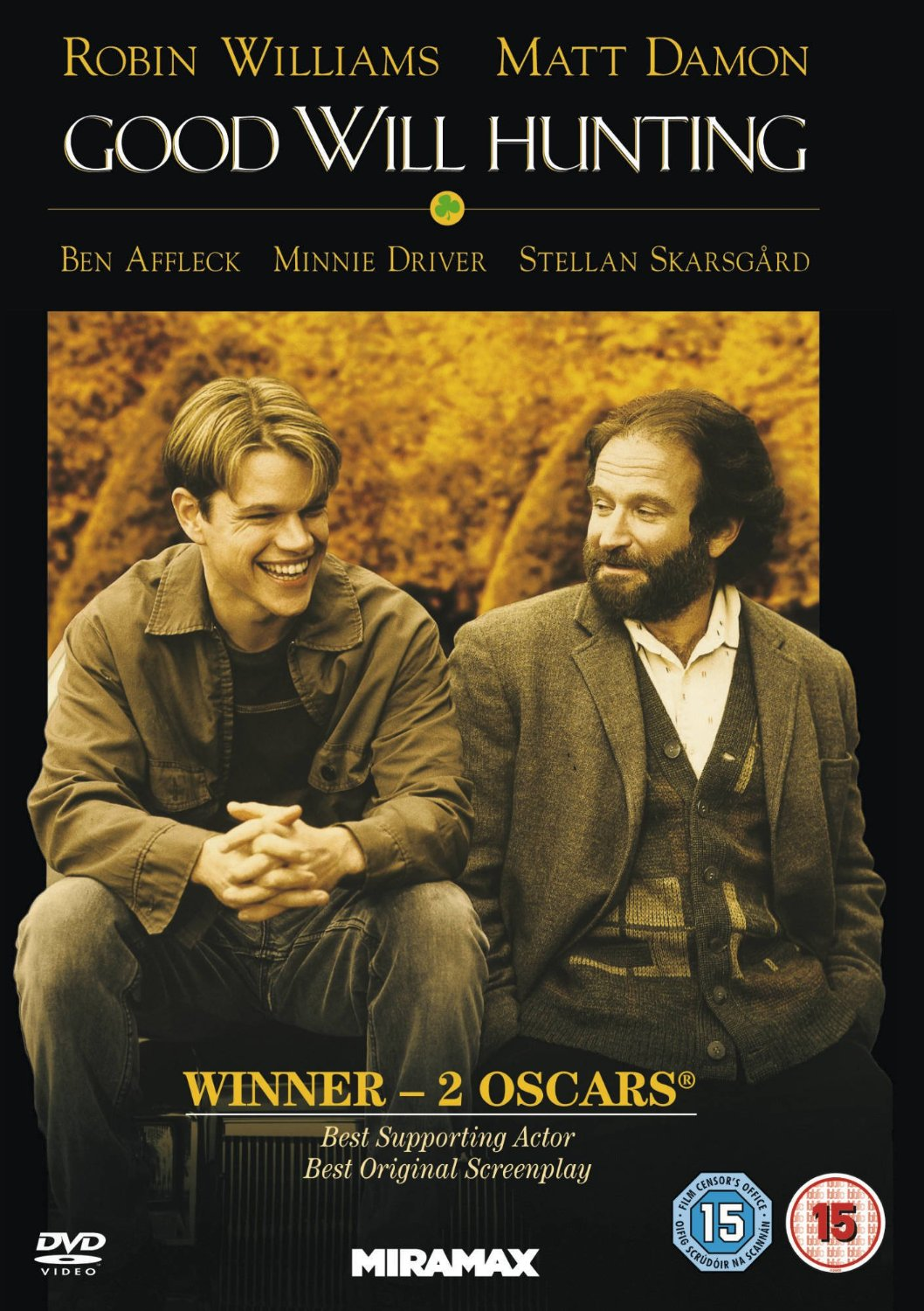 Good Will Hunting 1997 Dvd Planet Store