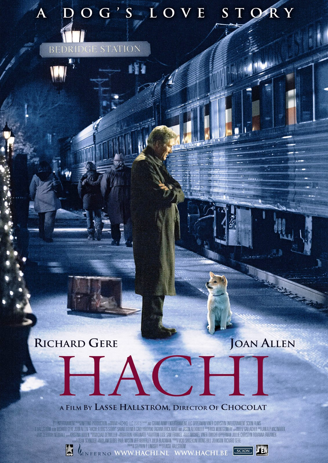 Hachi A Dog's Tale (2009)