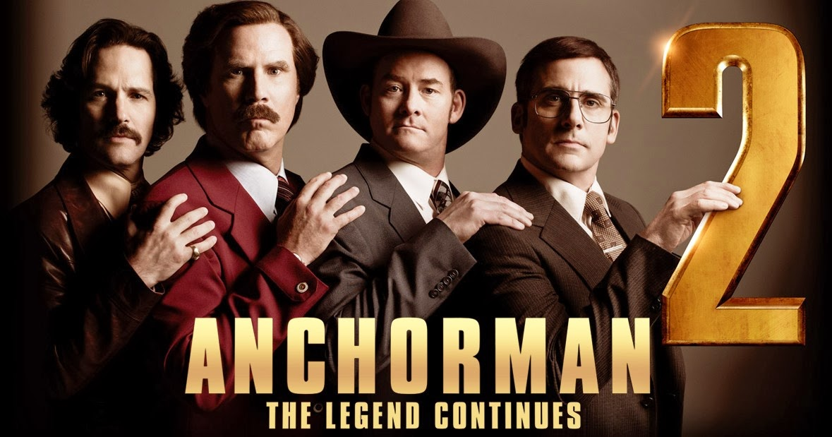 Anchorman 2 The Legend Continues 2013 Dvd Planet Store