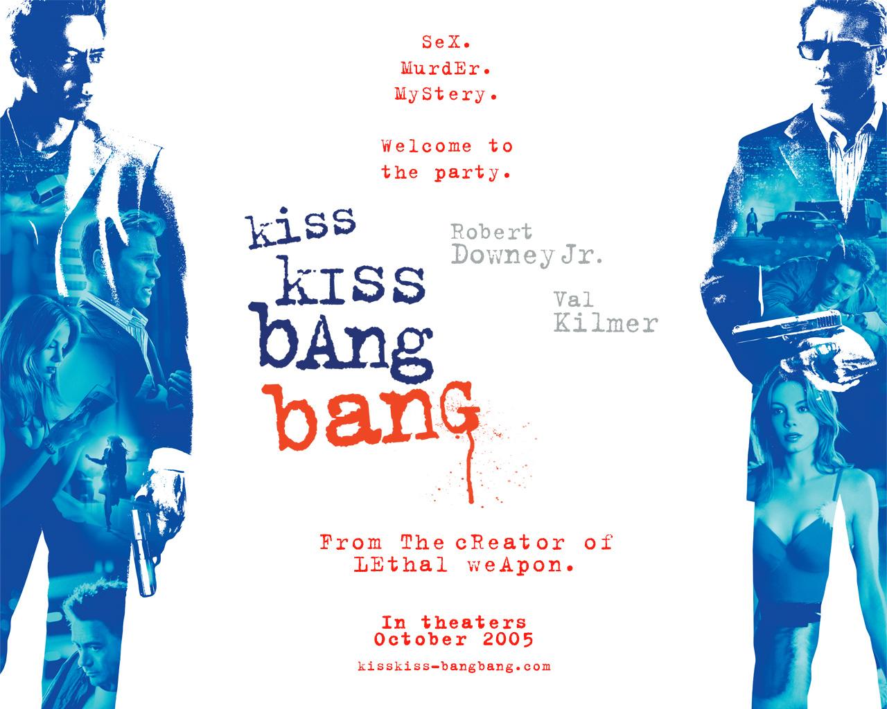 Kiss Kiss Bang Bang (2005) - DVD PLANET STORE