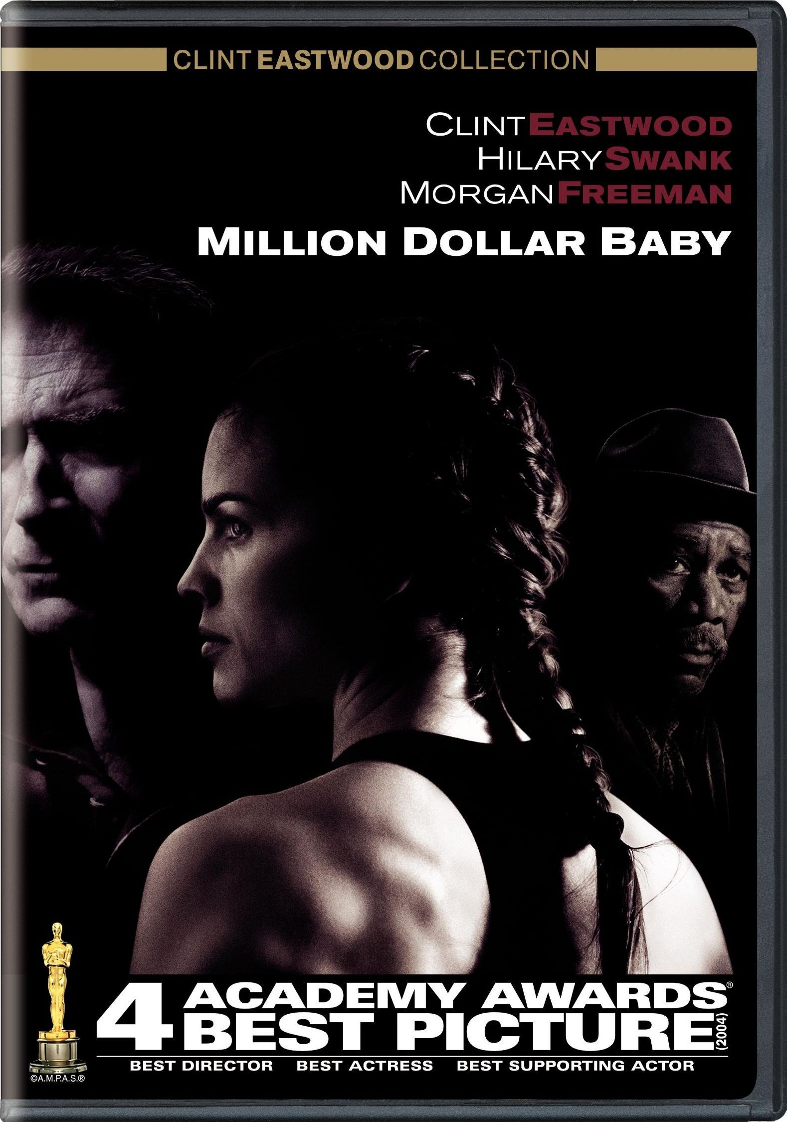 Million Dollar Baby 2004 Dvd Planet Store