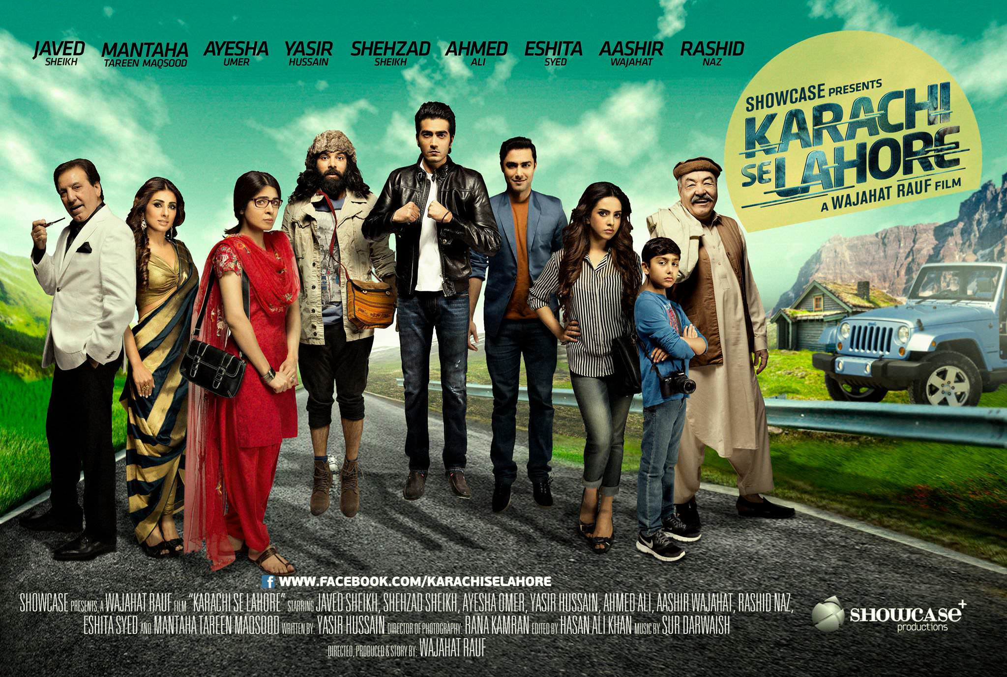 Karachi se Lahore (2015) - DVD PLANET STORE