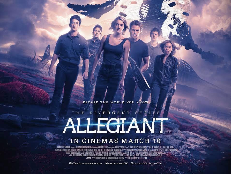 Allegiant 2016 Dvd Planet Store