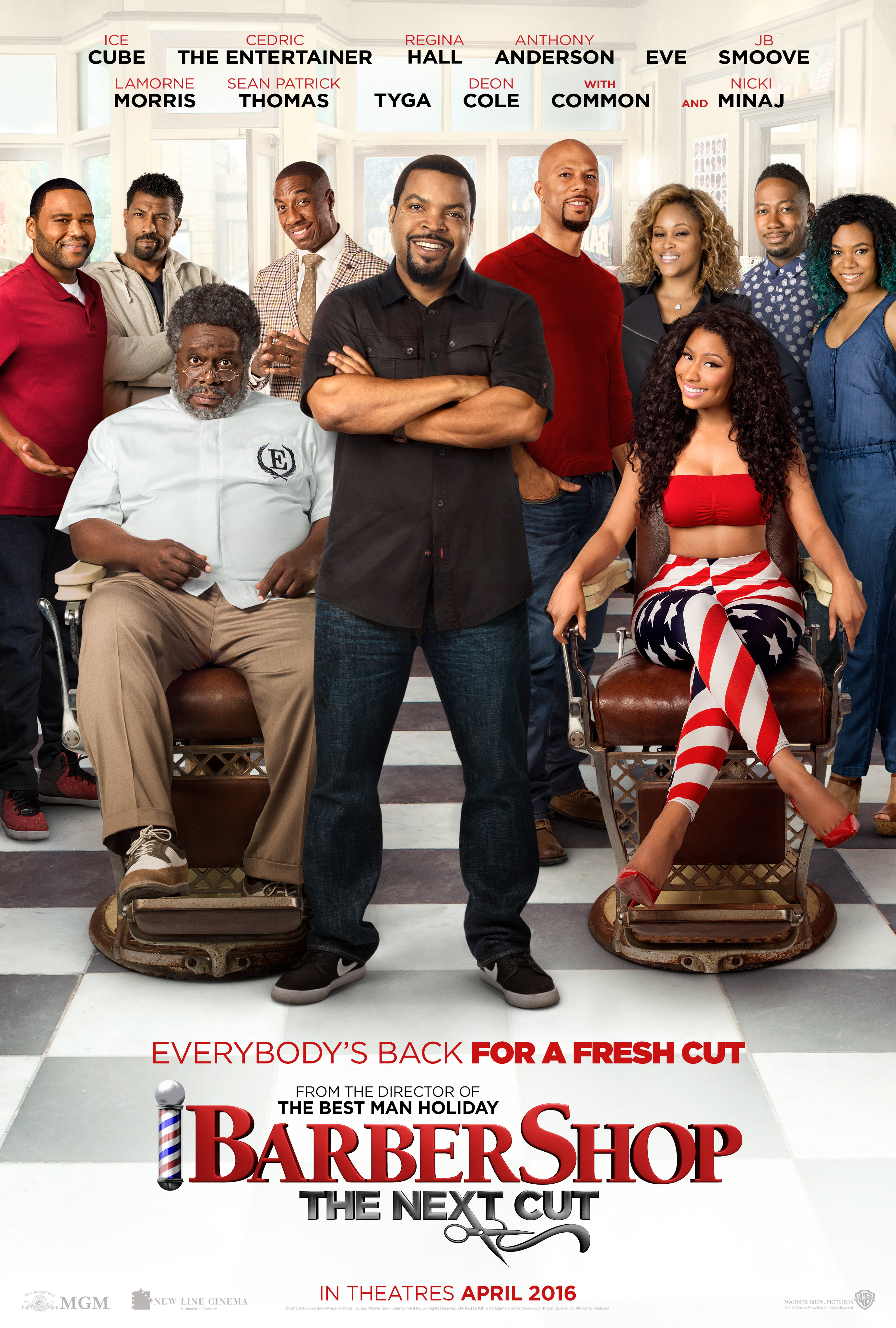Barbershop: The Next Cut (2016) - DVD PLANET STORE