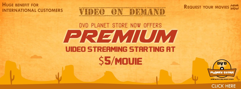 Video On-Demand By DVD Planet Store
