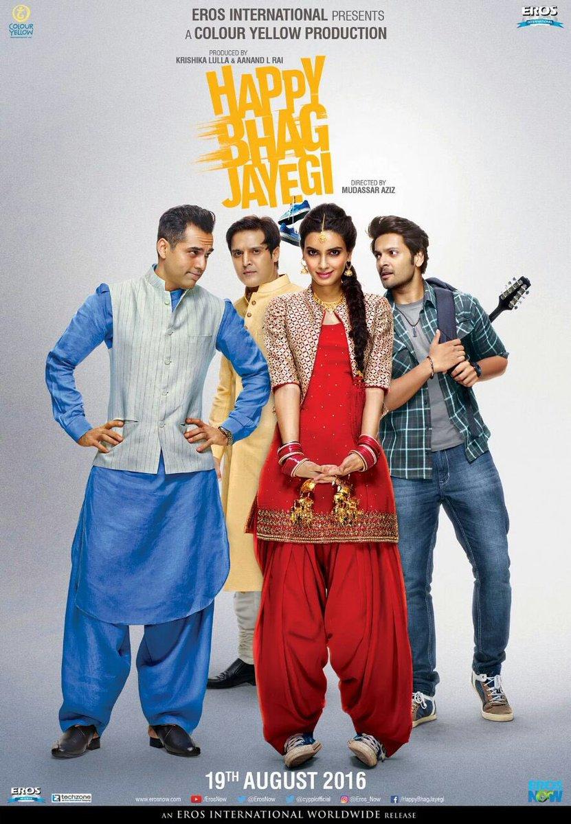 Happy Bhaag Jayegi (2016)dvdplanetstorepk