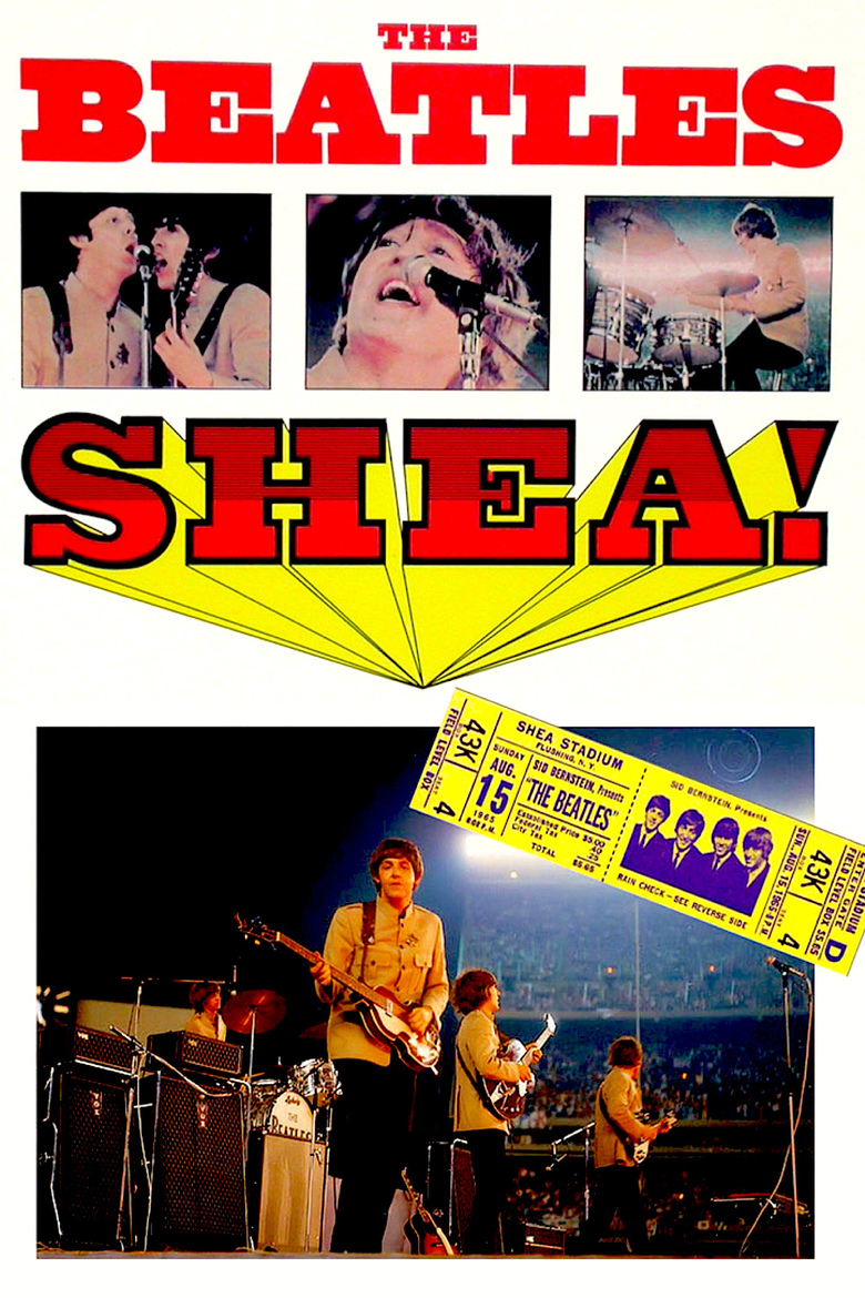 The Beatles At Shea Stadium 1967 Dvd Planet Store