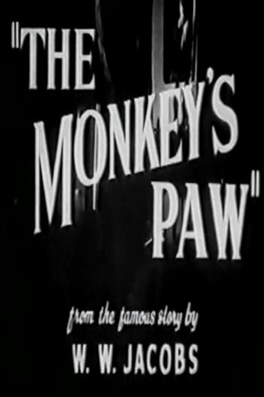 monkeys paw movie poster