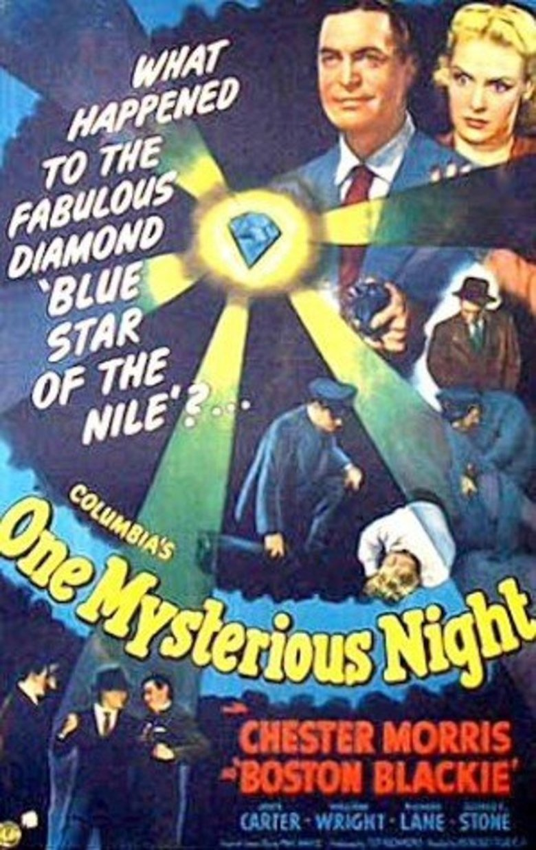 One Mysterious Night (1944) - DVD PLANET STORE 246c5e724538