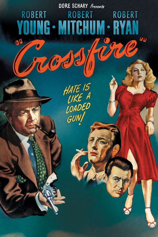 Maj 2019 Edward Dmytryk Crossfire [Blindt had] 1947