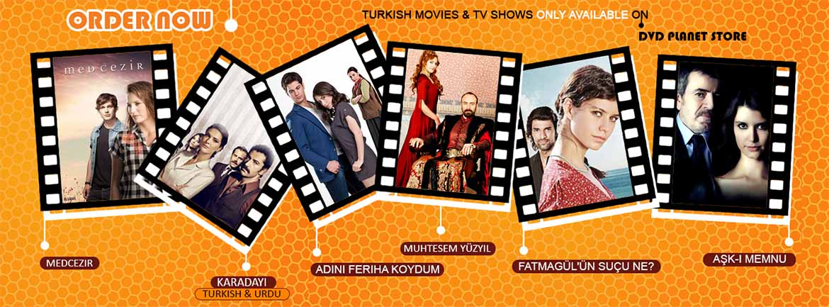 Turkish TV Shows now available at DVD Planet Store Pakistan