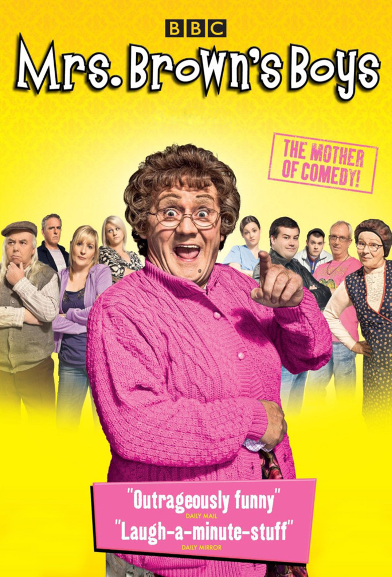 Mrs Brown's Boys - DVD PLANET STORE
