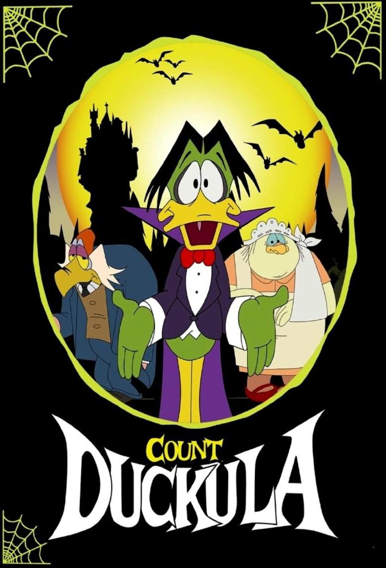 Great 1st Season Print Ad! Count Duckula Begins