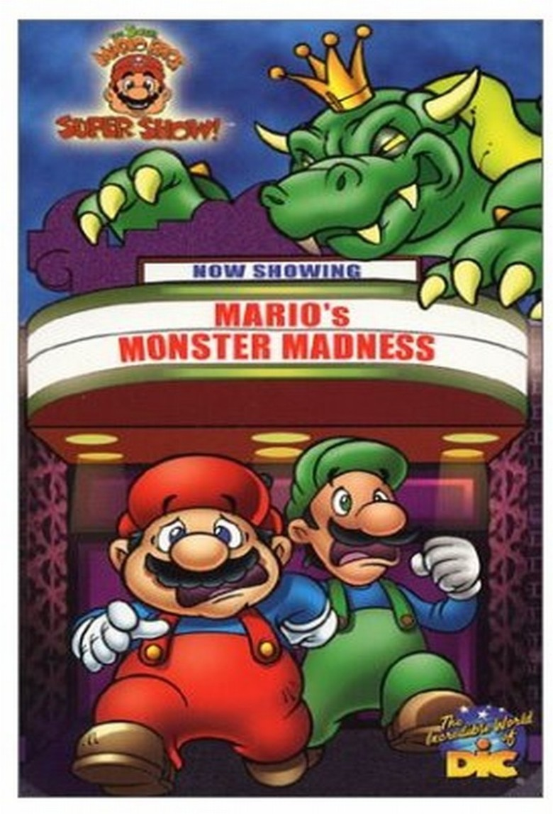 The Super Mario Bros Super Show Dvd Planet Store