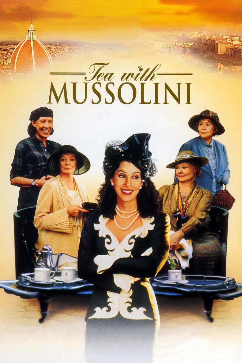 Tea with Mussolini (1999) - DVD PLANET STORE