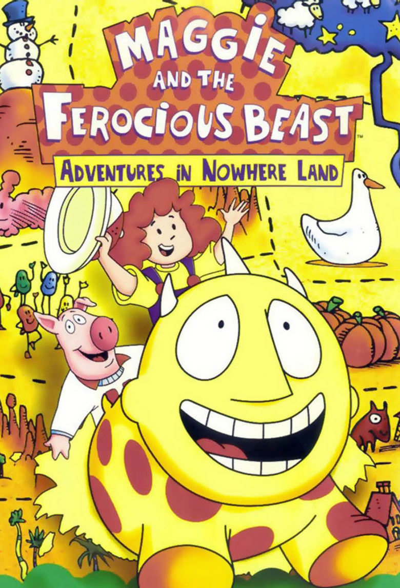 Maggie And The Ferocious Beast Dvd Planet Store
