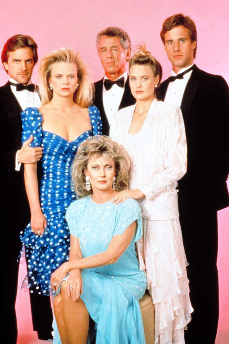The rival Capwell and Lockridge familes from the 80s soap