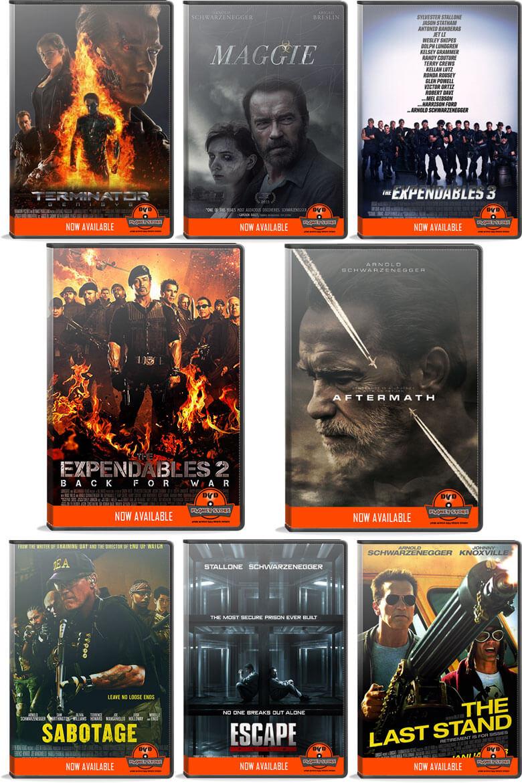 Arnold Schwarzenegger Bundle Offer #1 by DVD Planet Store Pakistan