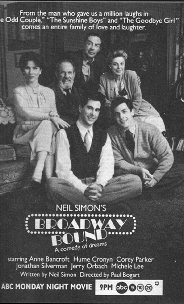 Broadway Bound 1992 Dvd Planet Store