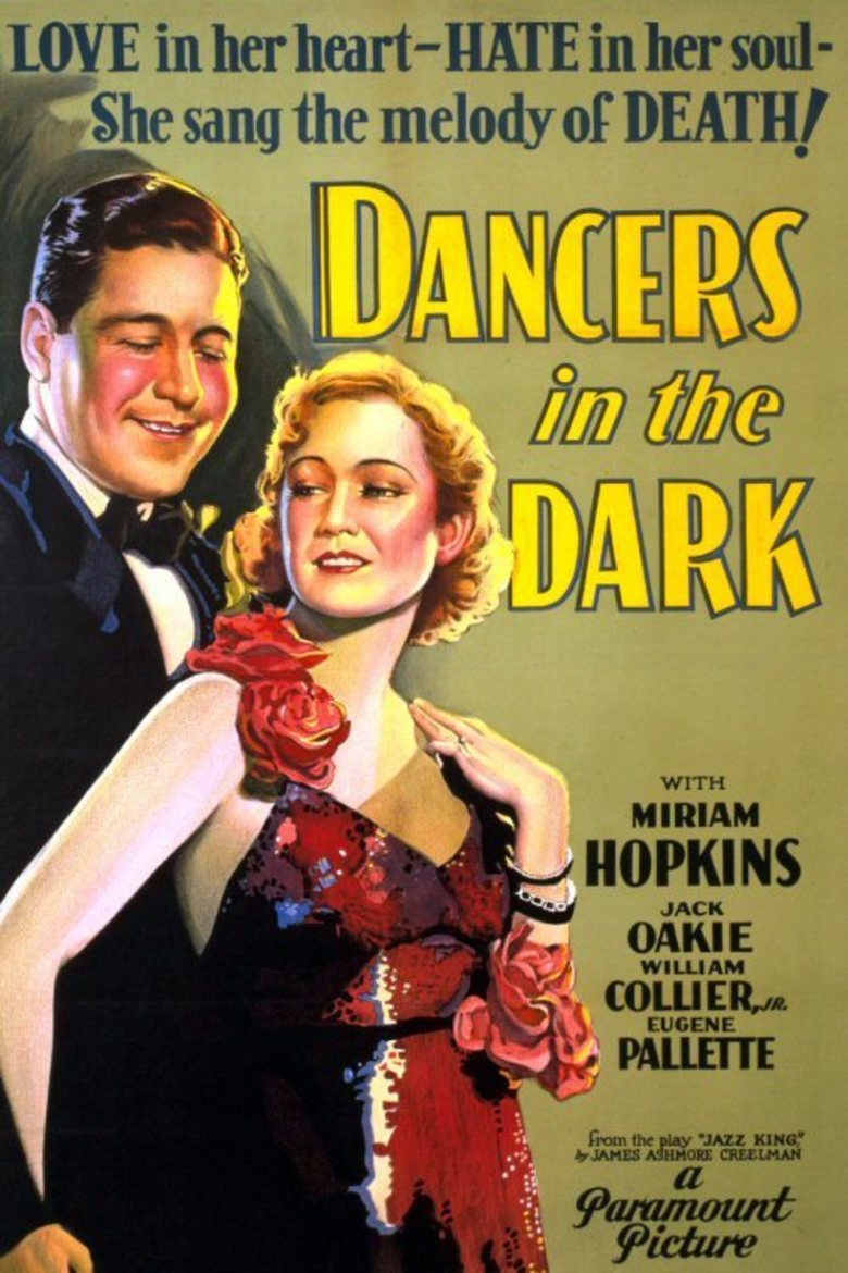 Dancers In The Dark 1932 Dvd Planet Store