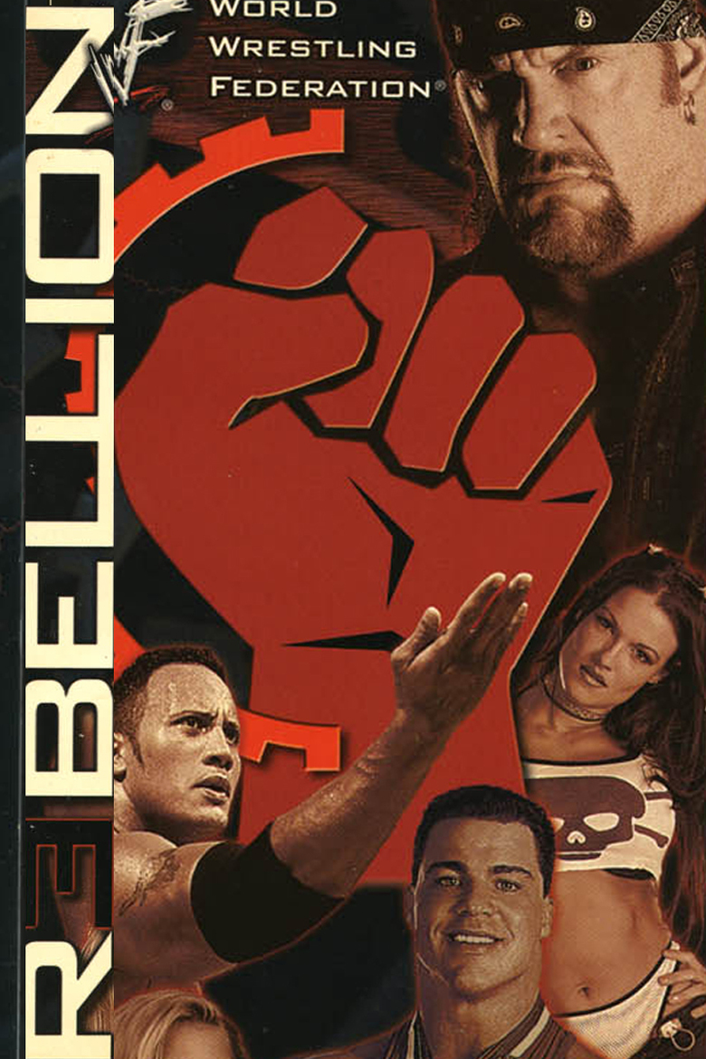 Image result for wwe rebellion 2000 poster