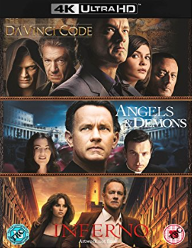 Inferno Angels And Demons The Da Vinci Code Ultra Hd Blu Ray