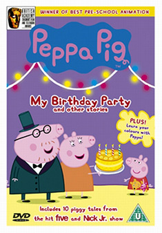 Peppa Pig - Bubbles And Other Stories DVD 2006 (Original)
