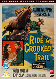 Ride A Crooked Trail Dvd 1958 Original Dvd Planet Store