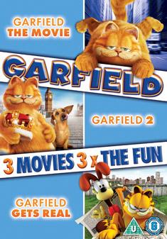 Garfield The Movie Garfield 2 Tale Of Two Kitties Garfield Gets Real Dvd 2006 Original Dvd Planet Store