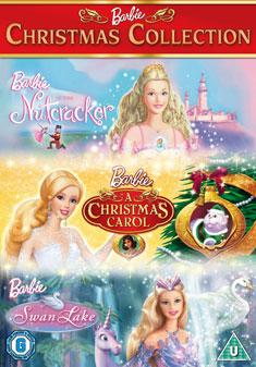 barbie swan lake a christmas carol nutcracker dvd 2010 original - Barbie A Christmas Carol