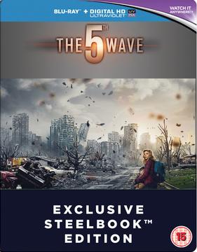 The 5th Wave Steelbook Blu-Ray 2016 (Original)