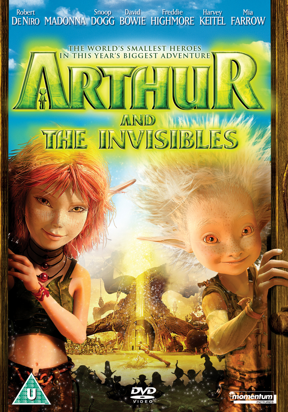 Arthur And The Invisibles Dvd 2007 Original Dvd Planet Store