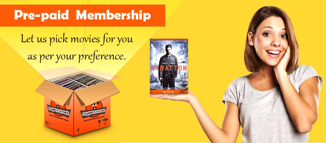 Pre-paid Membership Packages by DVD Planet Store Pakistan