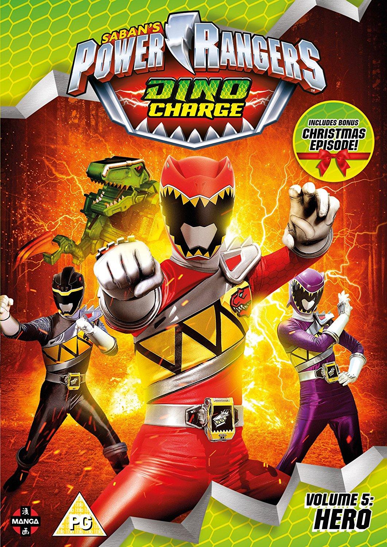 power rangers dino charge volume 5 hero christmas special dvd 2017 original