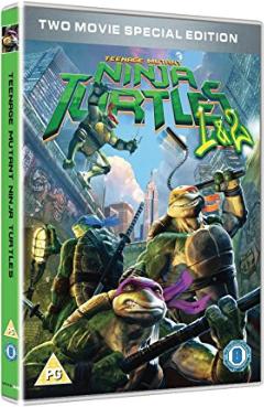 Tmnt Teenage Mutant Ninja Turtles 2 Films 1 To 2 Movie