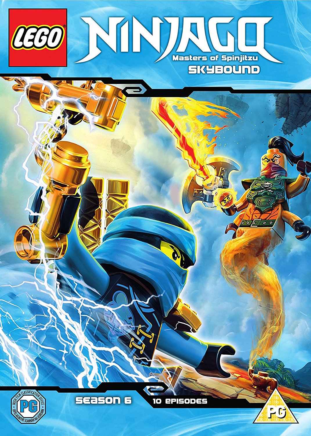 Lego ninjago masters of spinjitzu season 6 part 2 dvd - Lego ninjago logo ...