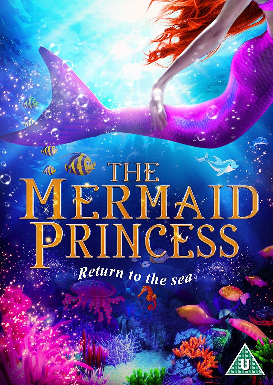 The Mermaid Princess Dvd 2016 Original Dvd Planet Store