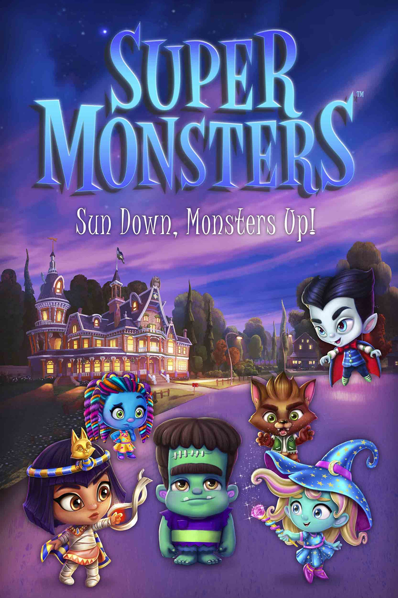 Super Monsters Dvd Planet Store