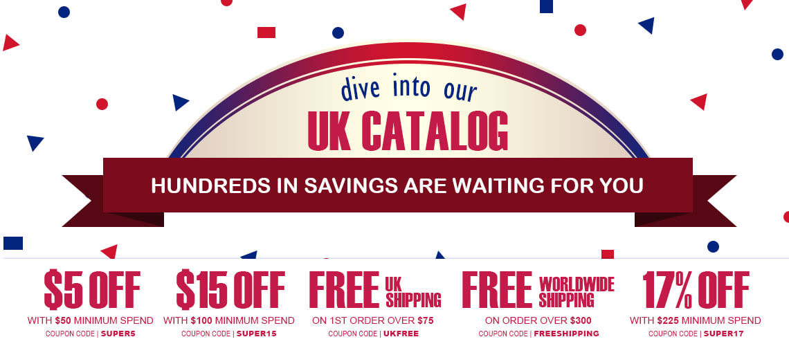 Promotions on our Region 2/UK catalog