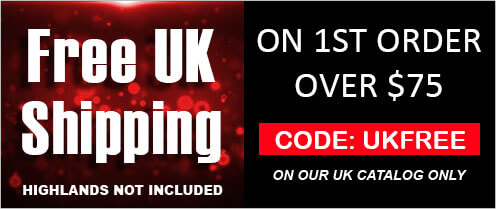 Promo: Get Free Shipping within UK with $75 minimum spend on our UK catalog for first order
